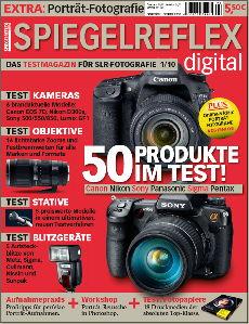 Titelseite der SPIEGELREFLEX digital