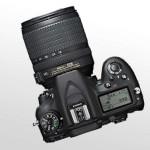 Nikon D7100 Draufsicht