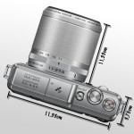 Nikon 1 AW1 - Maße