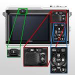 Bedienelemente der Nikon1