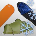 Zelt und Co winterfest machen